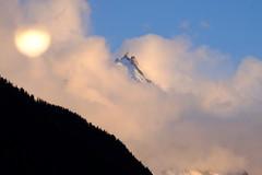 Coucher de soleil sur l'aiguille du midi 3850 mètres.  Sunset's on aiguille du midi 3850 mètres. (zeeman.antwerpen) Tags: sunset montain chamonix argentiere snow neige aiguilledumidi alpes