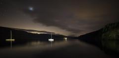 Loch Tay, after dark (Colourblind Chris) Tags: loch tay night stars scotland