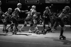 2017 Houston Roller Derby Game 3 (burnt dirt) Tags: houston texas downtown city town revention reventionmusiccenter bayoucityplace houstonrollerderby had rollerderby flattrack april15 2017 game3 doubleheader fujifilm xt1 bw blackandwhite jammer pivot blocker wftda bayoucitybosses psychwardsirens thebrawlers thevalkyries brawlers valkyries helmet pads girl woman people person group crowd spectator seat frontrow vip trackside athlete sport