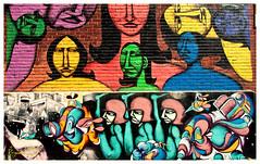 Street abstract 17 (ValterB) Tags: graffiti graffitiart urbanwalls urbanphotography urbanart urbanspraycanart spraypaintart aerosolart streetphotography artwork art arte arteurbana muri artistpublic outdoor mural streetart street wallart montreal contemporaryart abstract wall people dream valterb