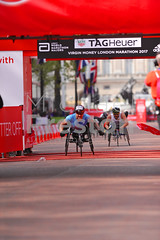 David Weir (GBR) wins the the Virgin Money London Marathon Wheelchair Elite race. (cloudwalker_3) Tags: action adults amputation amputees artificial athletes athletics blur blurred britain british brits challenge city compete competition competitive competitiveness competitors contest davidweir disability disabled elite england event feet foot gb gbr greatbritain humans image legs limbs london londonmarathon males man marathon men mobility mobilityimpaired motion movement moving participants people persons photo photograph pic picture prosthesis prosthetics racers races racing run running speed sporting sports uk virgin virginlondonmarathon