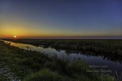 Wide-Angle Sunrise at BNWR (rebeccalatsonphotography) Tags: sunrise morning sun bnwr brazoria nationalwildliferefuge wildliferefuge rebeccalatsonphotography tx texas wetlands flatland morningcolors