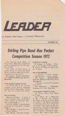 Stirling Pipe Band Pine Falls Newspaper Articles-5 (Hugh Peden) Tags: stirling pipe band pine falls manitoba major william bill macleod
