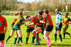 2017:03:25 14:20:00 (serenbangor) Tags: 2017 aberystwyth aberystwythuniversity bangoruniversity seren studentsunion undebbangor varsity rugby rugbyunion sport womens