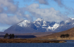 An Teallach from Loch Droma,  Wester Ross,  Scotland (David May) Tags: road west ross highlands seat north lord junction forge berkley destitution munro wester braemore fisherfield