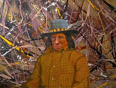 John Fire Lame Deer by RC Bailey (R.C. Bailey's Art) Tags: portrait art painting artist native indian chief famous nativeamerican american bailey indians rc figurative realism johnfirelamedeer rcbailey mineconjulakota