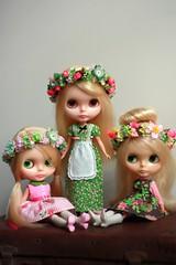 Cindy, Jan & Marsha Brady