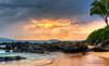 Maui! (Amy Hudechek Photography) Tags: ocean sunset beach weather clouds hawaii sand rocks maui palmtree happyphotographer amyhudechek