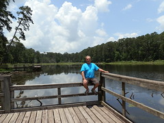 Taking a break @ Ratcliff Lake (richardblack667) Tags: texas parks forests missiontejas