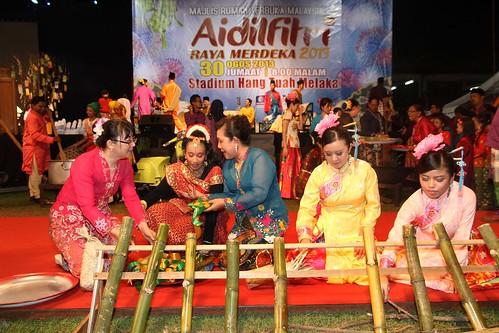 Rumah Terbuka Merdeka Raya di Stadium Hang Tuah, Melaka