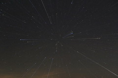 Star Streaks (rightthewrong) Tags: new sky white mountains night stars star washington m