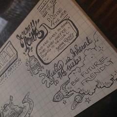 Sketch notes by @bushram