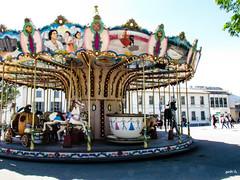 Carousel (gabi-h) Tags: france vintage spring village carousel arles gabih