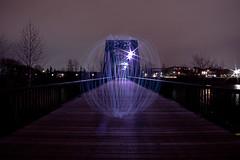 Week 23 - Long Exposure (James Hannett) Tags: pentax bridges alberta reddeer balloflight longexposer leadinglines project52 pentax14mmf28 pentaxk3