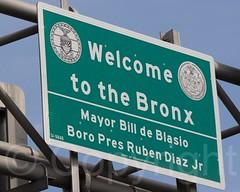 Welcome to the Bronx: Mayor Bill de Blasio & Boro President Ruben Diaz Jr. (jag9889) Tags: nyc newyorkcity usa ny newyork sign unitedstates mayor bronx unitedstatesofamerica welcome thebronx 2014 westbronx allamericacity morrisheights billdeblasio boropresident rubendiazjr jag9889
