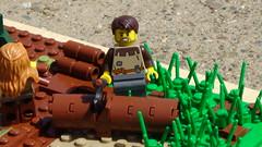 Archibald's Encampment (Hacim Bricks) Tags: tree brick castle wall tag3 toy tag2 tag1 lego bricks yo legos epic tag4 tag5 hacim hacimbricks gomoar