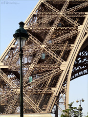 Leg of the Eiffel Tower