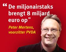 Miljonairstaks Peter Mertens