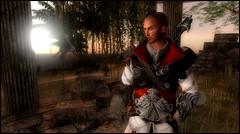 Scars (* NightHawk24 *) Tags: model fighter respect sl reflect secondlife virtual warrior warden scars virtualworlds 2df