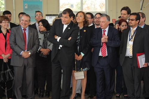 "El presidente de Ecuador, Rafael Correa, visitó el CAR • <a style=""font-size:0.8em;"" href=""http://www.flickr.com/photos/61278771@N07/14049376726/"" target=""_blank"">View on Flickr</a>"