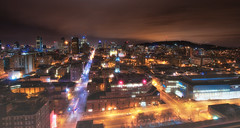 Montreal I love you! (Lima Pix) Tags: longexposure canada skyline cityscape quebec montreal nightshoot