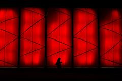 street red music color girl silhouette tom walking lens... (Photo: Tom Erik Sivertsen on Flickr)