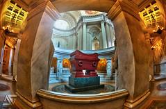 Napoleon's tomb II (A.G. Photographe) Tags: paris france grave french nikon fisheye invalides ag napoleon nikkor 16mm franais hdr parisian anto d800 tombeau xiii parisien antoxiii agphotographe