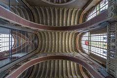 Ceiling view (Glenn Shoemake) Tags: barcelona hospitalsantpau canonef1635f28lii