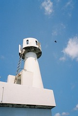 Tsuwazaki lighthouse #2 (motty) Tags: lighthouse film japan 35mm island islands kodak natura goto 100 xl nagasaki kyushu profoto classica naturaclassica nakadori kamigoto kodakprofotoxl100 shinkamigoto tsuwazaki nakadorijima