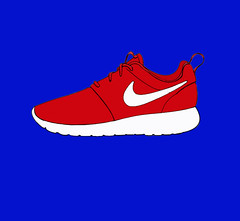 Nike Roshe Run (daniher13) Tags: red art shoe design graphicdesign graphic run sneakers nike kicks roshe nikerosherun nikeroshe