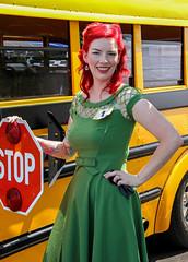 Pin-up Contestant #1, Katie Jo (J Wells S) Tags: ohio model milford youngwoman candidportrait pinupgirl quakersteakandlube voodootraditioniirodandkustomshow