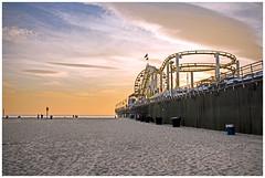 Santa Monica Pier (tim_kavanagh) Tags: california sunset pier santamonica