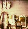 multiselfie (davebias) Tags: selfportrait reflection polaroid sx70 mirrors fleamarket impossible polaroidweek