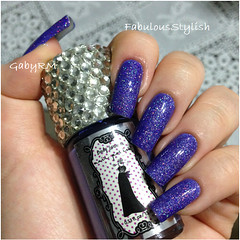 Body luxuries + Expressions of night (GabyRM) Tags: beauty glitter night body top nail expressions polish nails unhas roxo esmaltes luxuries