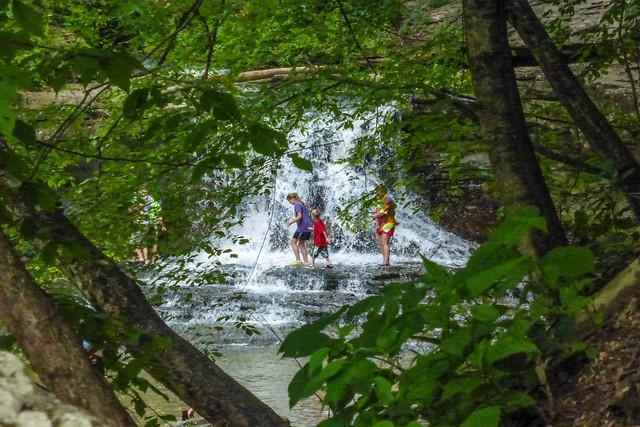 McCormick's Creek State Park - Waterfalls - May 24, 2014