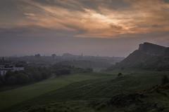 Misty Edinburgh Sunset (Colin Myers Photography) Tags: sunset mist colin misty fog photography warm edinburgh seat foggy arthursseat arthurs myers edinburghsunset edinburghphotography colinmyersphotography
