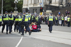 (louisa_catlover) Tags: demo march democracy student education university budget politics rally protest may police australia melbourne victoria demonstration activism deregulation 2014 sitin springst fundingcuts