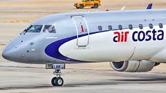 Air Costa Embraer 190 VT-LBR (Aiel) Tags: bangalore embraer emb190 embraer190 aircosta vtlbr