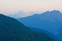 Monte Civetta view from afar (Twilight Tea) Tags: italy august dolomites southtyrol 2013