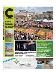 Capa Jornal C - O Caminhense - 27 jun 2014