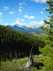 G8 Summit Hike - Valley view 2 (benlarhome) Tags: mountain canada nature trekking trek kananaskis rockies hiking hike alberta summit rockymountain
