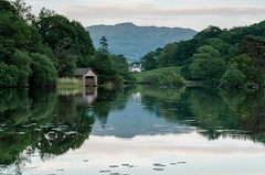 Home Is Where I Wanna Be (Ziv Photography) Tags: county england sky house lake reflection green nature water leaves clouds barn landscape outdoors dawn mirror countryside quiet dusk district hill shed lakedistrict calm hut silence cumbria serenity lush lakeland windermere waterscape