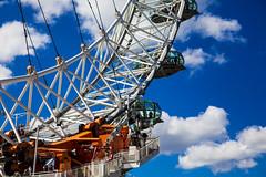 The London Eye (Arutemu) Tags: city uk england london english canon view unitedkingdom britain londoneye ciudad british ville 6d 24105 町 ロンドン 英国 イギリス 都市 都会 eos6d 光景