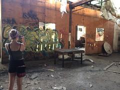 7/13/14 (ashtonclarke5) Tags: abandoned graffiti downtown warehouse louisville