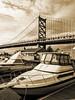 At the bridge (Jackpicks) Tags: philadelphia river dock delawareriver dockside benjaminfranklinbridge