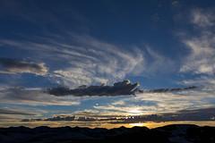 Sunset on Trail Ridge Road (Matt Thalman - Valley Man Photography) Tags: sunset summer mountain snow clouds nationalpark colorado unitedstates places rockymountainnationalpark