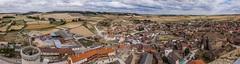 Vistas de Torrelobaton desde el castillo (ex-otico) Tags: