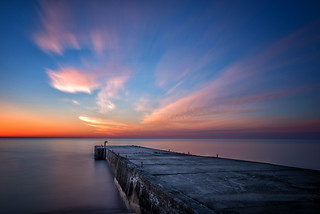 Sunrise near Lion,s Head, Ontario