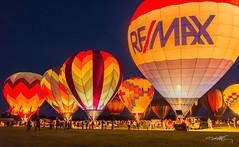 Waterford Ballon Fest (Dirty Stacks) Tags: wisconsin balloons nikon dusk hotair balloon july hotairballoon waterford balloonglow 2014 remax d600 waterfordwisconsin remaxballoon waterfordballoonfestival waterfordballoonfest dirtystacks michaelpkelly