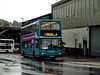 W654SNN Walsall July 2014 (Walsall1955) Tags: rain raining 19 walsall nct arriva littlewoods nottinghamcitytransport eastlancs dennistrident 4854 arrivabus stpaulsstreet stpaulsst lolyne arrivamidlandsnorth wardles w654snn nottinghamct wardlestransport arrivawardles